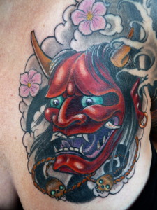 Ziguri_Tattoo_Berlin_Schöneberg_Oni_Japan_Maske_Teufel