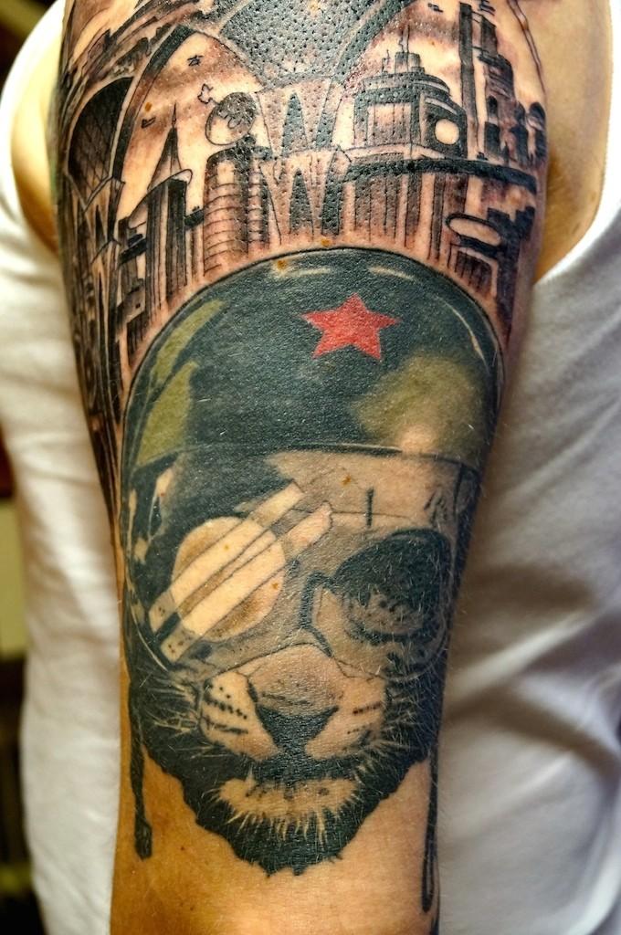 Ziguri#tattoo#berlin#schöneberg#sftattoo#hellcat#