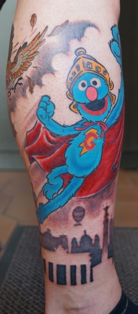 ziguri#tattoo#berlin#schöneberg#supergrobi#berlinsluette#
