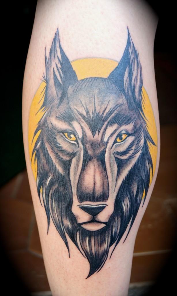 Ziguri#Tattoo#Berlin#Schöneberg#Wolf