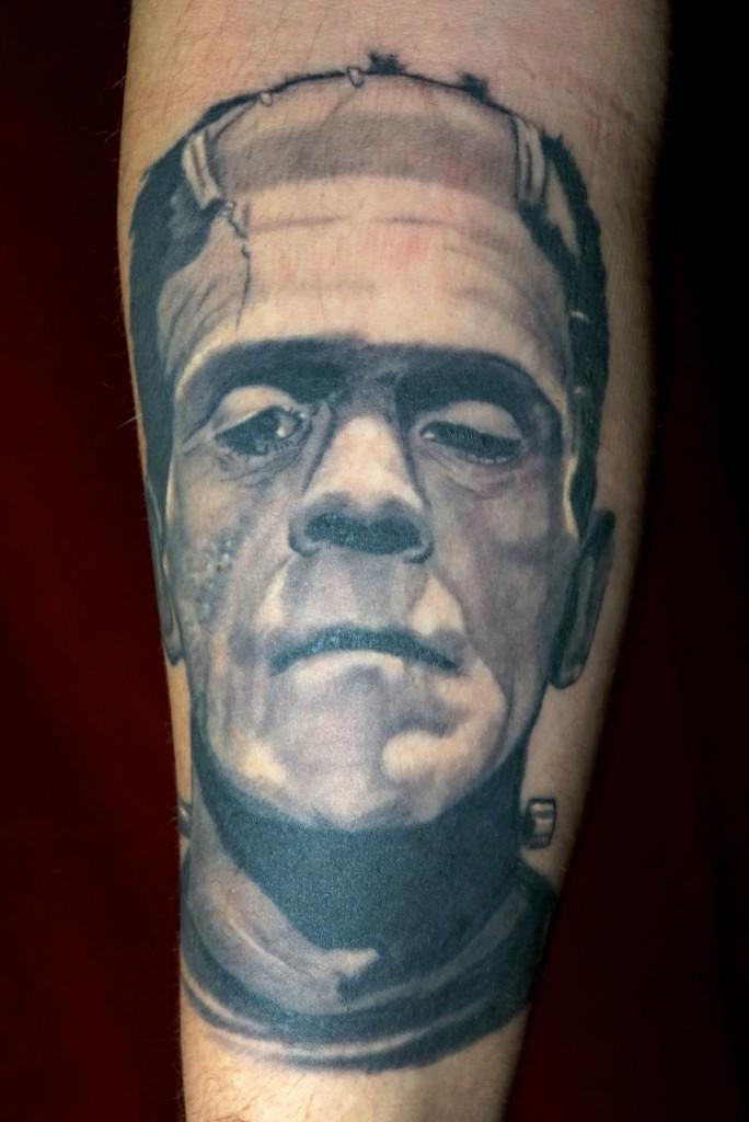 Ziguri#Tattoo#Berlib#schöneberg#Frankensteintattoo