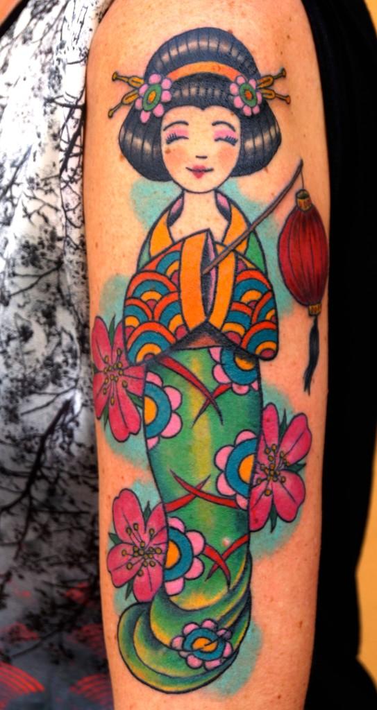#ziguri tattoo#berlin#schöneberg#geischatattoo